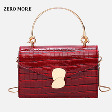 Stone pattern PU Leather Crossbody Bags For Women 2019 Mini Shoulder Messenger Bag With Metal Handle Lady Travel Totes цена 2017