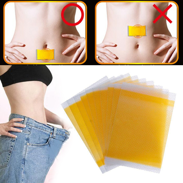Navel Slim Stickers Weight Loss Burning Fat Efficacy  Herbal Medical Plaster