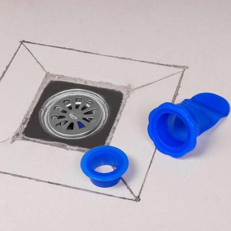 Prevention Shower Drainer Seal Drain Cover Floor Drain Anti odor One Way Valve