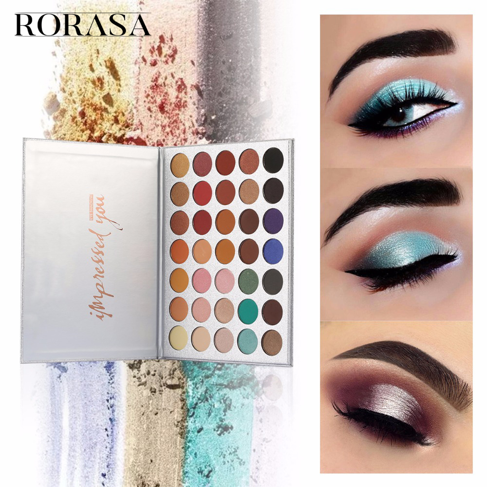Beauty Tools Chic 35 Color New Face Makeup Eyeshadow Palette Shades Shimmer Matte Eyeshadow Pallete Cosmetics For Morphes Style 2