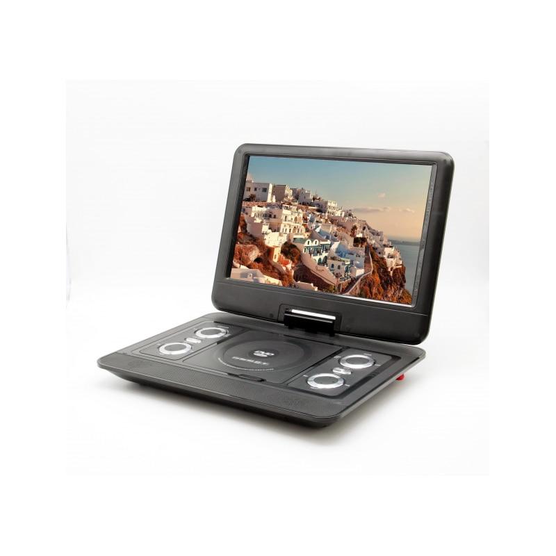 Портативный DVD-плеер Eplutus LS-130T c цифровым тюнером DVB-T2 14.1'' 1440х1080 АКБ 2400 мАч
