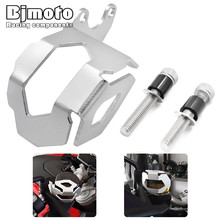 F800 GS F700 New Motorcycle CNC Aluminum Front Brake Fluid Reservoir Guard Protective Cover For BMW F800GS F700GS 2013 up
