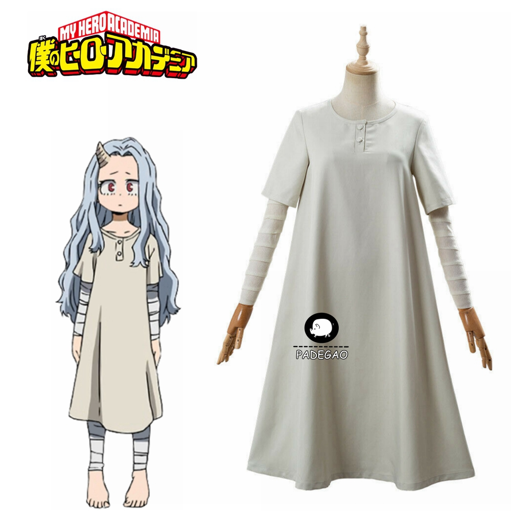 My Hero Academia Season 4 Eri Cosplay Costume One-piece Dress Bandage Dress Free Shipping