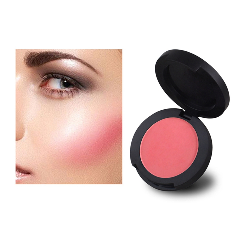 Velvet Natural Brightening Blush Long Lasting Soft Face Cheek Beauty Makeup Cosmetic Product