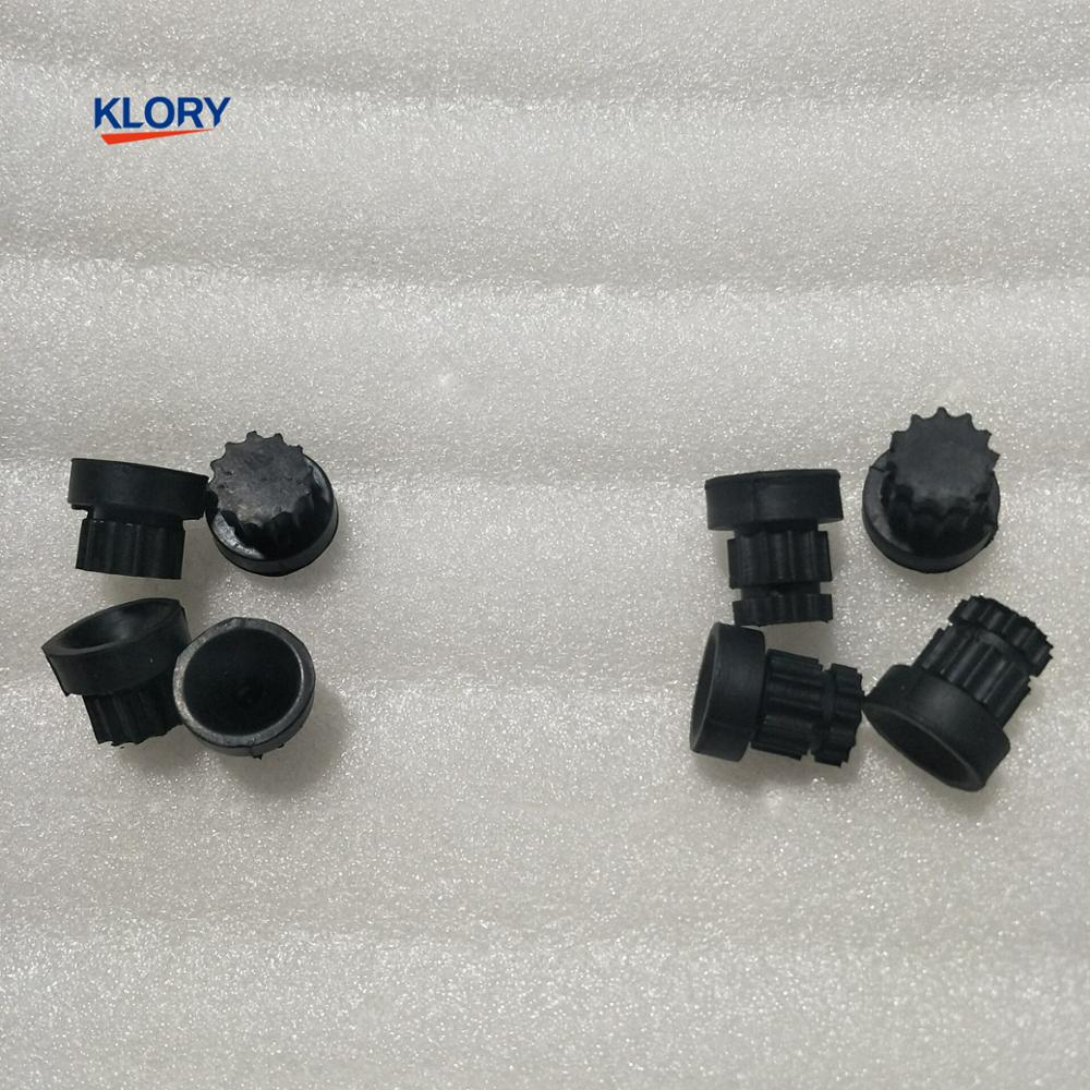 Rubber Support For Great Wall C30 C50 C20 HAVAL H1 H2 H6 M2 M4 Engine Upper Cover Single/double Groove Rubber(4pcs One Set)