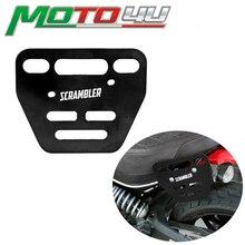 Nova moto lado bagageiro suporte sela sacos suportes de montagem com parafuso para ducati scrambler acessórios da motocicleta
