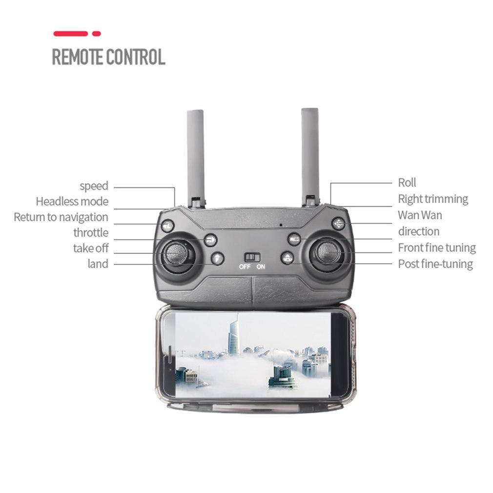 HOTCS-5 GPS Дрон с 4K HD камерой складные дроны четырехосный вертолет один ключ возврата WIFI FPV RC вертолет мальчик игрушки