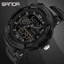 Montre bracelet électronique multifonctionnelle pour hommes, étanche, de marque supérieure, numérique, militaire, montre pour hommes