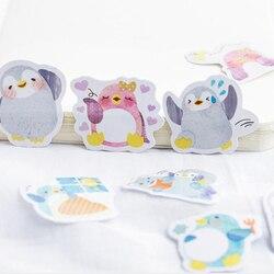 45 sztuk/paczka Kawaii małe zwierzęta naklejki DIY naklejka uszczelniająca materiały biurowe naklejki śliczne pamiętnik dekoracji Scrapbooking