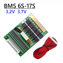 BMS 6S TO 17S 80A 3.2V 3.7V 18650 Lithium Li ion Battery Balancer 10S 13S 16S Lifepo4 BMS Lipo PCM Balancing Protection Board