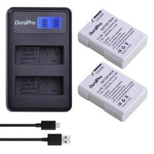 DuraPro – ensemble de chargeurs de batterie de remplacement, 2x EN-EL14a EN-EL14 EL14, pour Nikon D5600,D5500,D5300,D5200,D5100,D3200,D3300,P7800,P7700