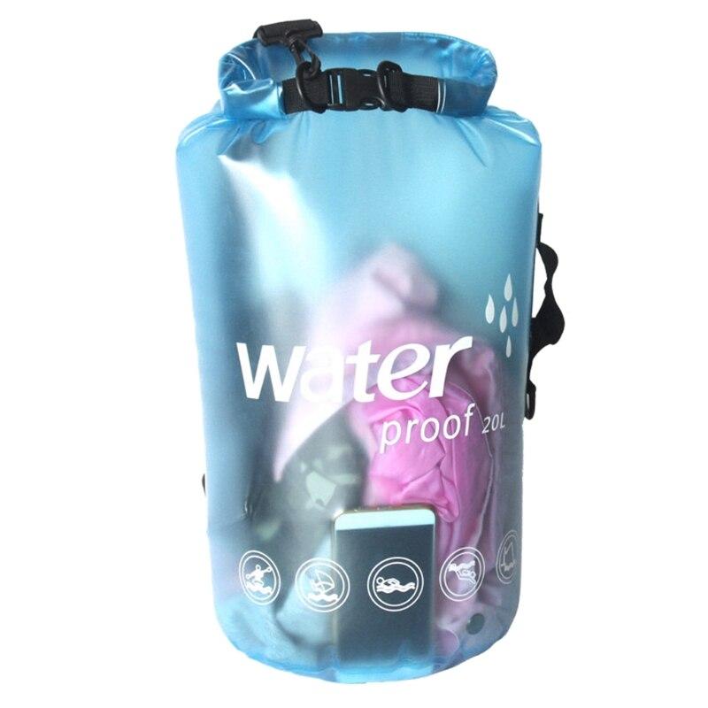10/20L Waterproof Dry Bag Outdoor Swimming Kayaking Drifting Tool Storage Case 652D