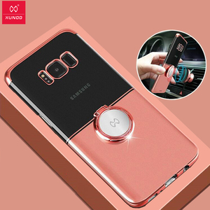 Image 1 - For Samsung Galaxy S8+ Case чехол Xundd Luxury Finger Ring Buckle Holder Cover for Samsung S9 Case for Samsung Note 9
