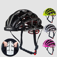 MTB Mountain Road Bike Folding Bicycle Helmet Portable Urban Leisure Riding Caps Helmets Comfortable Ultralight