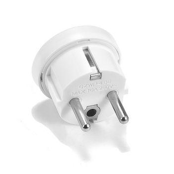 цена на 1pc EU Plug Adapter Australian AU US To Euro KR Power Adapter Travel Plug 250V AC Electrical Wall Socket Home Plug Adapter