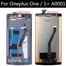 Original For Oneplus One Plus 1+ LCD Display + Touch Screen +fram +Toos Digitizer Assembly Replacement Accessories  стоимость
