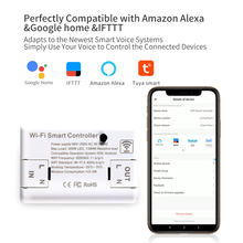 Bingoelec basique bricolage Wifi commutateur intelligent pour Alexa Google Home 10A 2200W TUYA vie intelligente sans fil commutateur à distance automatisation intelligente(China)