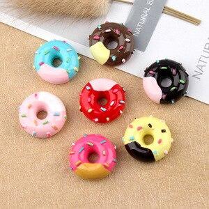 10pcs Double Colors Food Donut