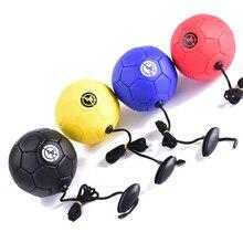 Bola de treinamento futebol pontapé bola tpu tamanho 2 crianças adulto futbol com corda iniciante treinador prática cinto dropshipping