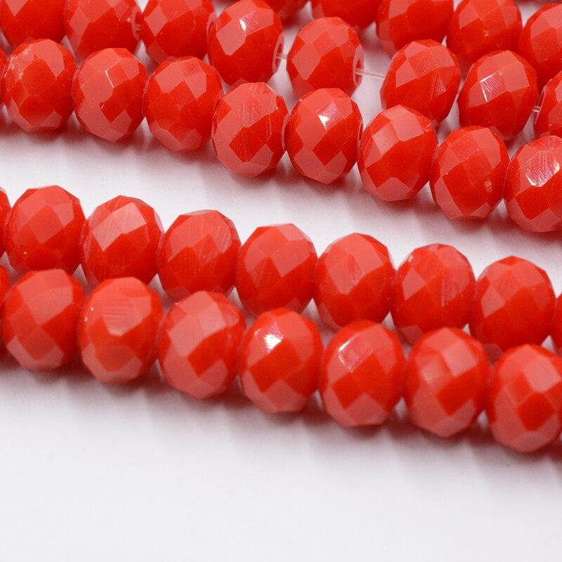 4 мм 140 шт./лот бусины из кристаллов, граненые круглые стеклянные бусины - Цвет: 080