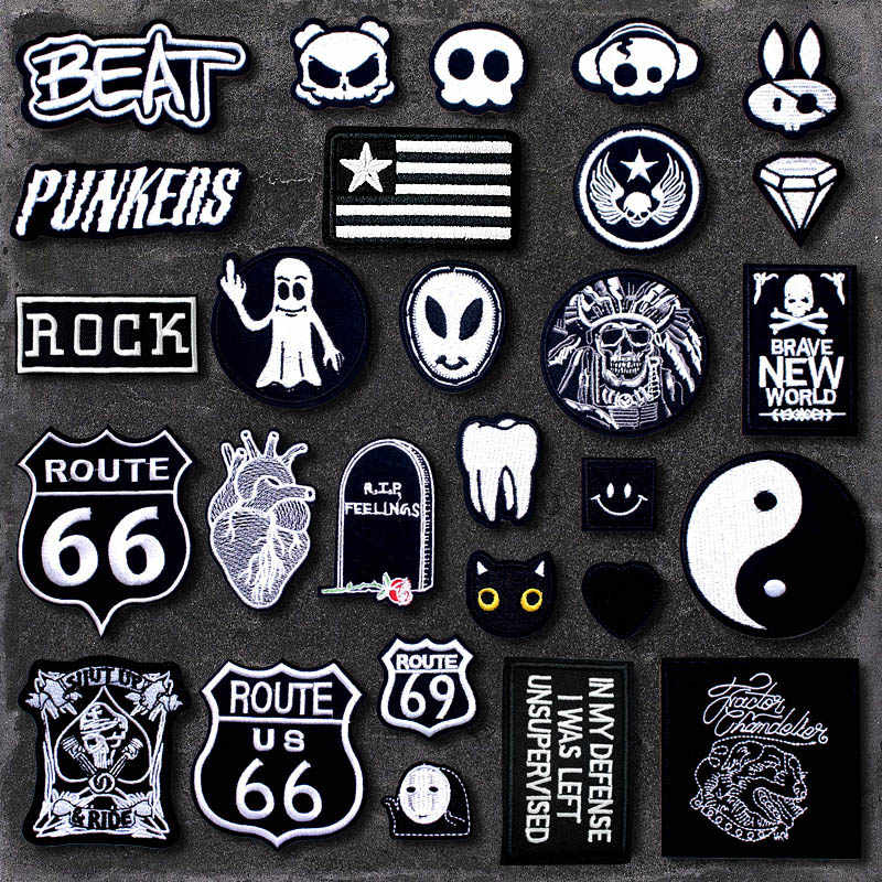 Diy Doek Badges Mend Versieren Ijzer Op Patch Kleding Kleding Naaien Decoratie Applique Naaien Patches YX-X9958