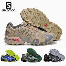 Salomon Speed Cross 3 Sport Outdoor Men Shoes Athletic Zapatillas Speedcross CS Male Hombre Solomon Fencing Running Mujer Shoes salomon speedcross pro running shoes for men sport shoes sneakers male outdoor damping breathable run gym athletic sapato