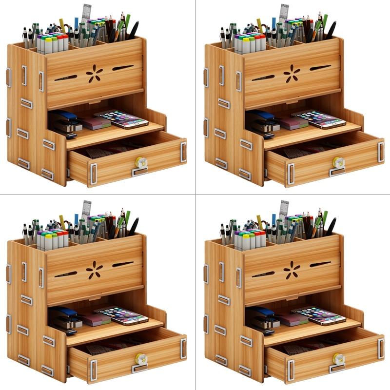 Pen Container Creative And Fashionable Storage Box, Desktop Swing Piece Supplies Pen And Barrel Pen Holder  Pencil Organizer