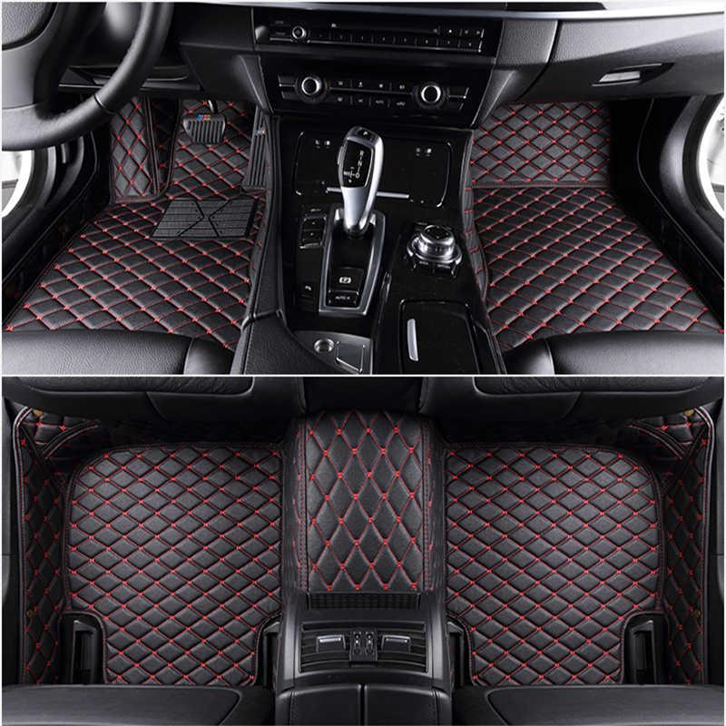 Niestandardowe 5 siedzenia dywaniki samochodowe do bmw 4 seria 420i 428i 430i 435i 440i Gran Coupe 4 Coupe maty samochodowe