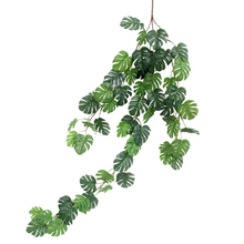 Rattan-Decorative Hanging Artificial-Plant-Vine Outdoor Turtle-Leaf Home 31''
