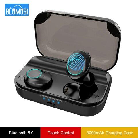 Купить беспроводные bluetooth 50 наушники tws стерео звук с 3000 мач