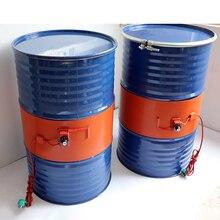 Tambor de banda de silicona, 220V, 110V, 20 200L, manta calefactora, aceite, biodiésel, tanque de Gas de barril de Metal de plástico