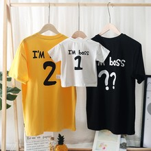 Mom Daughter Clothes Father Son Matching Clothing Family Look Cartoon Milu Deer