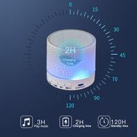 led music 2020 Wireless Bluetooth Speaker Mini LED Music Audio TF USB FM Stereo Sound Portable Speaker For Phone Xiaomi Computer (2)