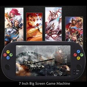 Image 5 - HaoLongGCP neogeo 8/16/32 비트 게임용 ps1 용 핸드 헬드 7 인치 레트로 비디오 게임 콘솔 1500 무료 게임으로 8GB TV 출력 지원