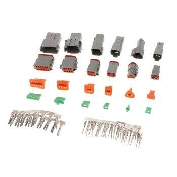 DEUTSCH Termial kit-2 3 4 6 8 12 pin соединители 12v Кабельный соединитель