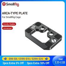 SmallRig Arca Typ Schnell Release Platte für SmallRig Käfig Stativ Platte 2389