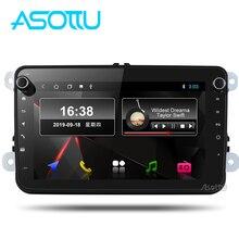 Asottu vw301 android 9.0 px30 rádio do carro 2 din para skoda para vw golf 6 7 polo tiguan passat b6 b5 jogador gps carro