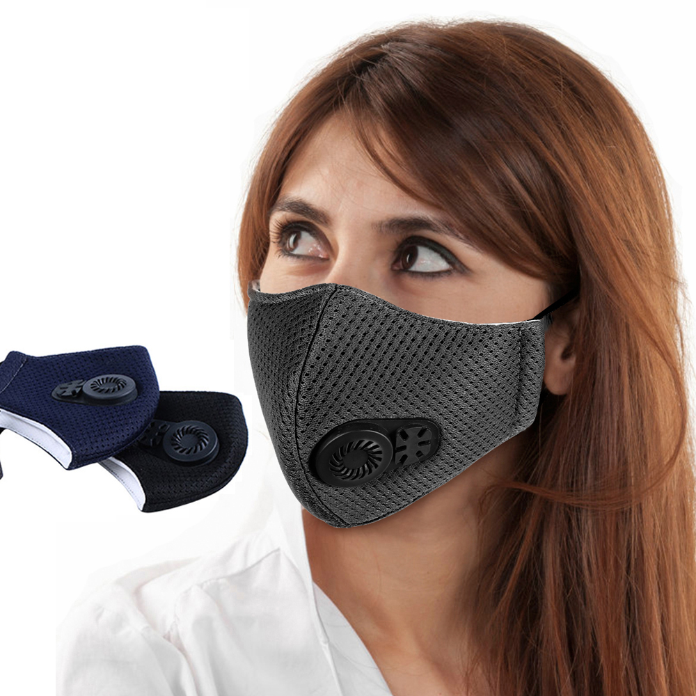 1Pcs PM2.5 Pollution Mask Anti Air Dust And Smoke With Earloop , Washable Respirator Mouth  Mask