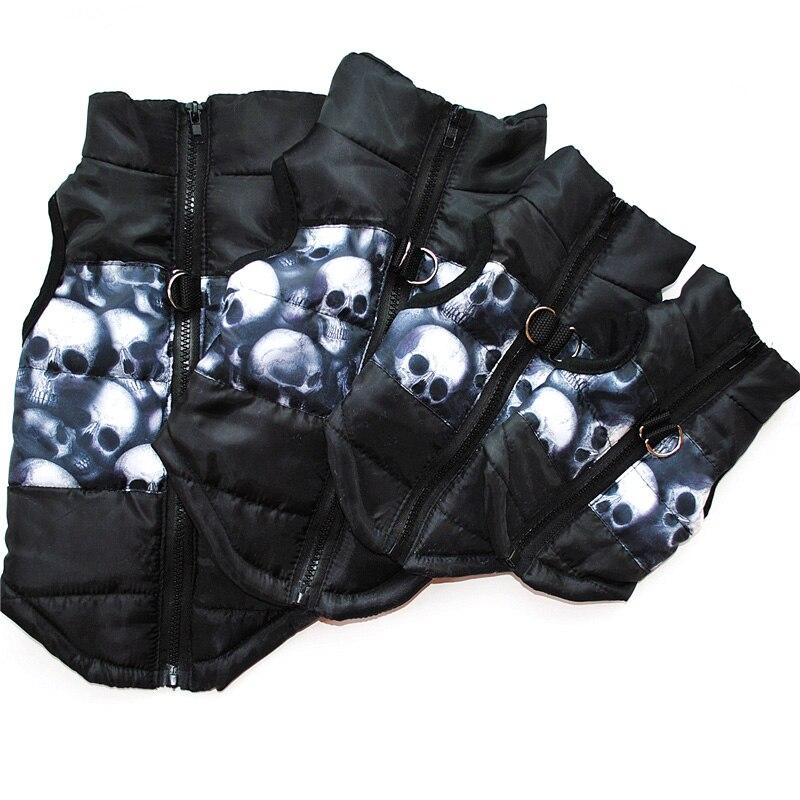 Одежда для домашних животных, жилет для щенков, теплая одежда для маленьких собак, зимние ветрозащитные куртки для собак, стеганая одежда Чихуахуа 20-1