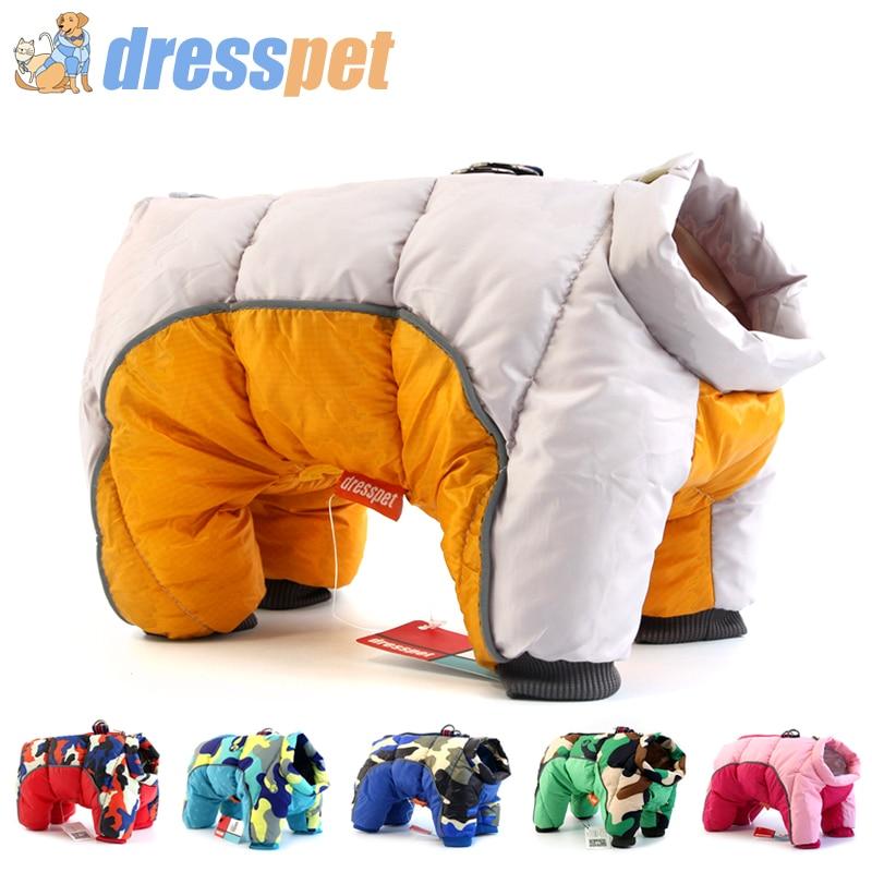 2019 Winter Dog Clothes Super Warm Jacket