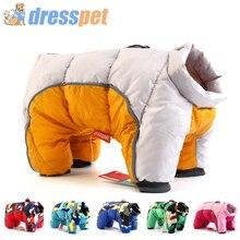 Зимняя одежда для собак, супер теплая куртка, толстое хлопковое пальто, водонепроницаемая одежда для маленьких собак, одежда для французских бульдогов, щенков