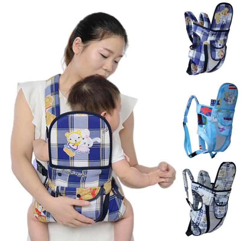 Newborn Baby Front Carrier Toddler Backpack Infant Holder Hands Free Sling Stretchy Wrap Carrier Breastfeeding Kangaroo Ergo