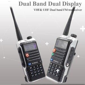 Image 2 - Baofeng UVB2 Plus UV B2 Two way Radio Dual Band VHF/UHF Walkie Talkie 128CH interphone BF UVB2 Ham CB Radio Handheld Transceiver