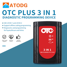 OTC Plus 3 in 1 Diagnostic Tools For nissan consult For toyota Intelligent Tester For volvo vida dice OBD Scanner GTS With HDD