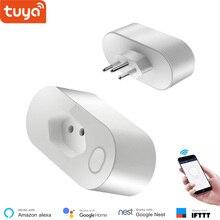 Brazil Standard Smart Socket WiFi Type N 16A Power monitoring Life APP Control Voice via Alexa Google Home