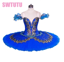 Blue Classic ballet tutu costume adult swan lake professional tutu,ballet for sale