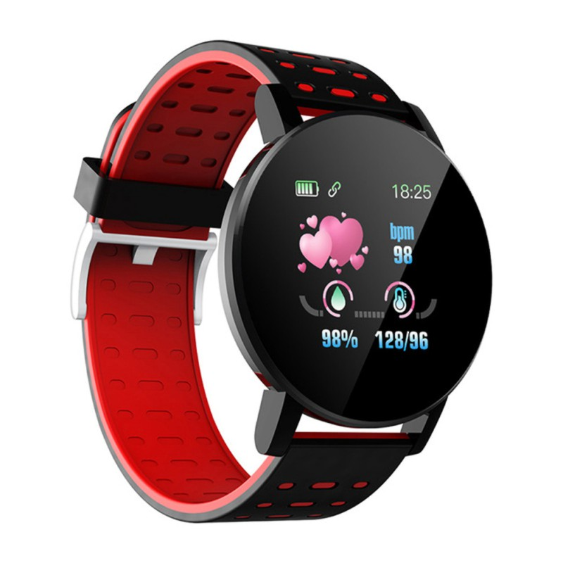 Round Screen Smart Bracelet Bluetooth Call Reminder Passometer Heart Rate Blood Pressure Sleep Monitoring Electronic Monitor