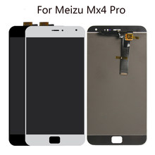"5.5 ""Lcd Voor Meizu MX4 Pro Lcd-scherm Touch Screen Panel Digitizer Vergadering Voor Meizu MX4 Pro Lcd Vervanging(China)"