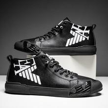 Skateboard Shoes Sneakers Men Superstar High-Top Black Fashion Hombre Letter Seasons