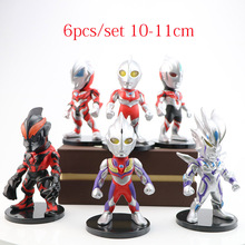 Mini Ultraman Taro Seven Jack Ace Cute Action Figures Toys PVC Doll Collection Model Toys Kid Boy Birthday Holiday gifts cute nyan board cat in danboard mini pvc action figures collectible model toys gifts 10pcs set 7cm